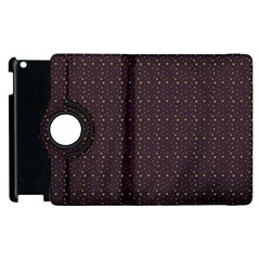 Pattern Background Star Apple iPad 2 Flip 360 Case
