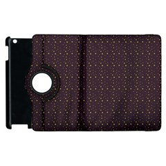 Pattern Background Star Apple Ipad 3/4 Flip 360 Case