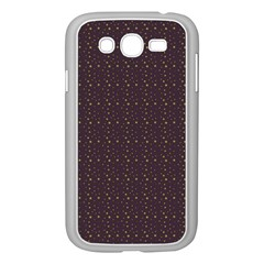 Pattern Background Star Samsung Galaxy Grand DUOS I9082 Case (White)
