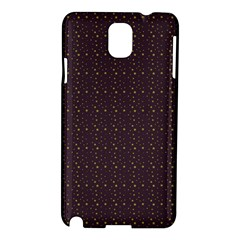 Pattern Background Star Samsung Galaxy Note 3 N9005 Hardshell Case