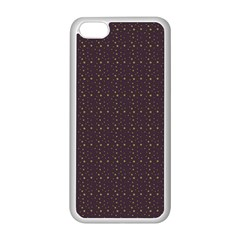 Pattern Background Star Apple Iphone 5c Seamless Case (white)
