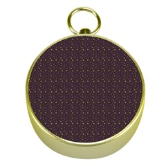 Pattern Background Star Gold Compasses