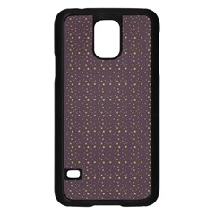 Pattern Background Star Samsung Galaxy S5 Case (black)