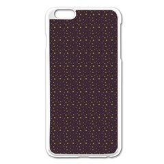 Pattern Background Star Apple Iphone 6 Plus/6s Plus Enamel White Case