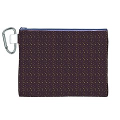 Pattern Background Star Canvas Cosmetic Bag (XL)