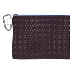 Pattern Background Star Canvas Cosmetic Bag (xxl)