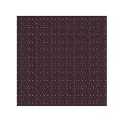 Pattern Background Star Small Satin Scarf (square)
