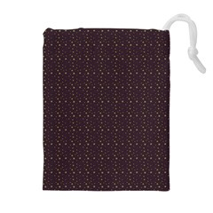 Pattern Background Star Drawstring Pouches (Extra Large)