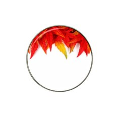Abstract Autumn Background Bright Hat Clip Ball Marker