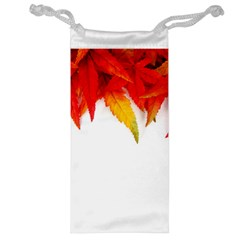 Abstract Autumn Background Bright Jewelry Bag