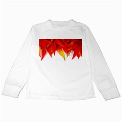 Abstract Autumn Background Bright Kids Long Sleeve T-Shirts