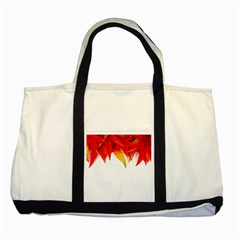 Abstract Autumn Background Bright Two Tone Tote Bag