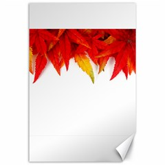 Abstract Autumn Background Bright Canvas 24  X 36