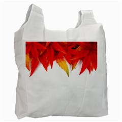 Abstract Autumn Background Bright Recycle Bag (one Side)
