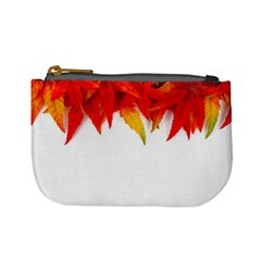 Abstract Autumn Background Bright Mini Coin Purses