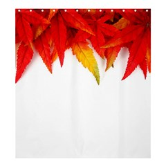 Abstract Autumn Background Bright Shower Curtain 66  x 72  (Large)