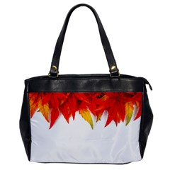Abstract Autumn Background Bright Office Handbags