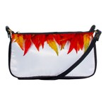 Abstract Autumn Background Bright Shoulder Clutch Bags Front