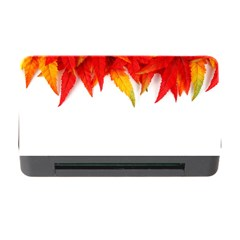 Abstract Autumn Background Bright Memory Card Reader With Cf