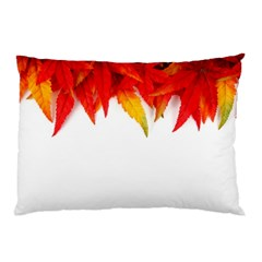 Abstract Autumn Background Bright Pillow Case (two Sides)