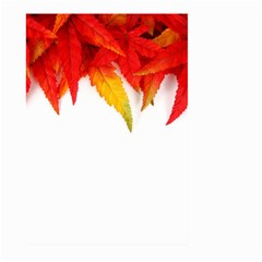 Abstract Autumn Background Bright Large Garden Flag (two Sides)