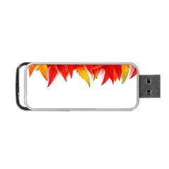 Abstract Autumn Background Bright Portable Usb Flash (two Sides)