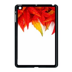 Abstract Autumn Background Bright Apple iPad Mini Case (Black)