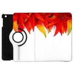 Abstract Autumn Background Bright Apple Ipad Mini Flip 360 Case