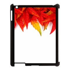 Abstract Autumn Background Bright Apple Ipad 3/4 Case (black)