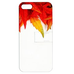 Abstract Autumn Background Bright Apple Iphone 5 Hardshell Case With Stand