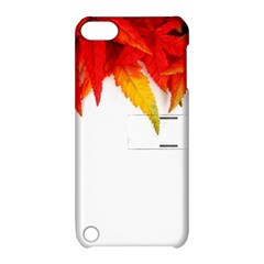 Abstract Autumn Background Bright Apple Ipod Touch 5 Hardshell Case With Stand