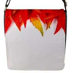 Abstract Autumn Background Bright Flap Messenger Bag (S)