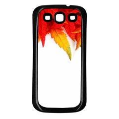 Abstract Autumn Background Bright Samsung Galaxy S3 Back Case (black)