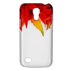 Abstract Autumn Background Bright Galaxy S4 Mini