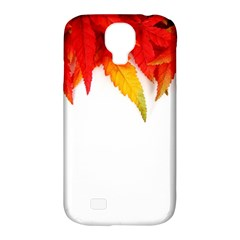 Abstract Autumn Background Bright Samsung Galaxy S4 Classic Hardshell Case (pc+silicone)