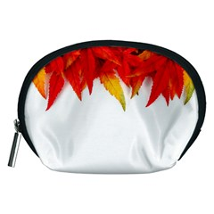 Abstract Autumn Background Bright Accessory Pouches (Medium)