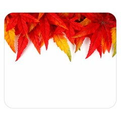 Abstract Autumn Background Bright Double Sided Flano Blanket (small)