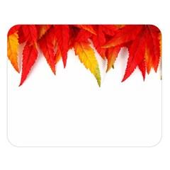 Abstract Autumn Background Bright Double Sided Flano Blanket (Large)