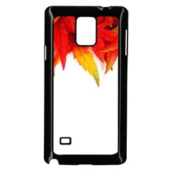 Abstract Autumn Background Bright Samsung Galaxy Note 4 Case (black)