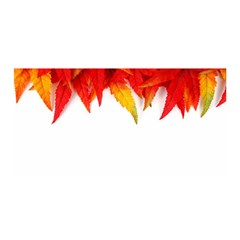 Abstract Autumn Background Bright Satin Wrap