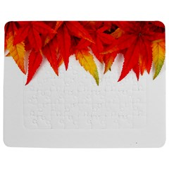 Abstract Autumn Background Bright Jigsaw Puzzle Photo Stand (Rectangular)