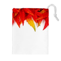 Abstract Autumn Background Bright Drawstring Pouches (Extra Large)