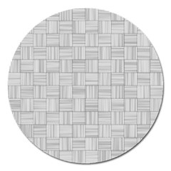 Flooring Household Pattern Magnet 5  (round)