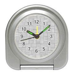 Flooring Household Pattern Travel Alarm Clocks