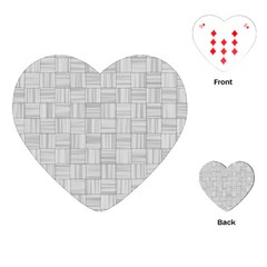Flooring Household Pattern Playing Cards (heart)