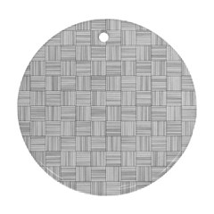 Flooring Household Pattern Round Ornament (two Sides)