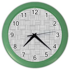 Flooring Household Pattern Color Wall Clocks