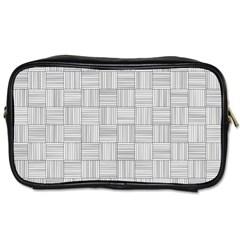 Flooring Household Pattern Toiletries Bags 2-Side