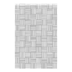 Flooring Household Pattern Shower Curtain 48  x 72  (Small)