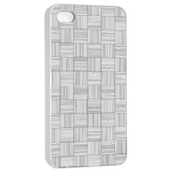 Flooring Household Pattern Apple Iphone 4/4s Seamless Case (white)